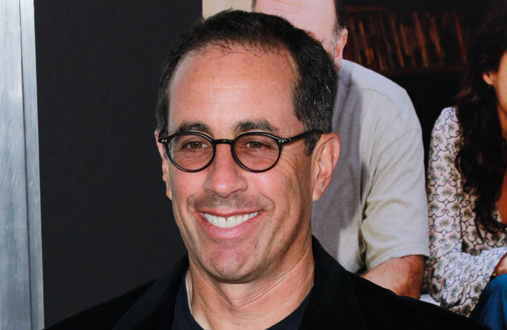 Comidian and car fanatic Jerry Seinfeld.