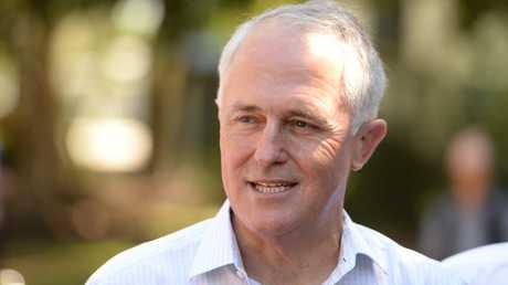 Prime Minister Malcolm Turnbull in Rockhampton. Photo: Chris Ison / The Morning Bulletin