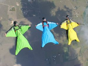 I quit my job to fly in a wingsuit
