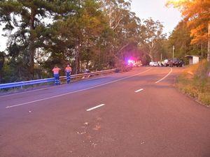 Palmwoods man dies in tip-truck crash