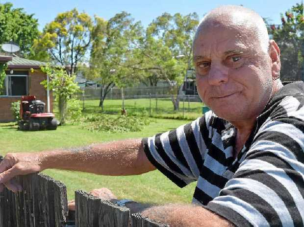 ON THE NOSE: Sarina resident John Bein said whenever he gets a bit of rain his sewage will overflow into his neighbour's bathroom sink.