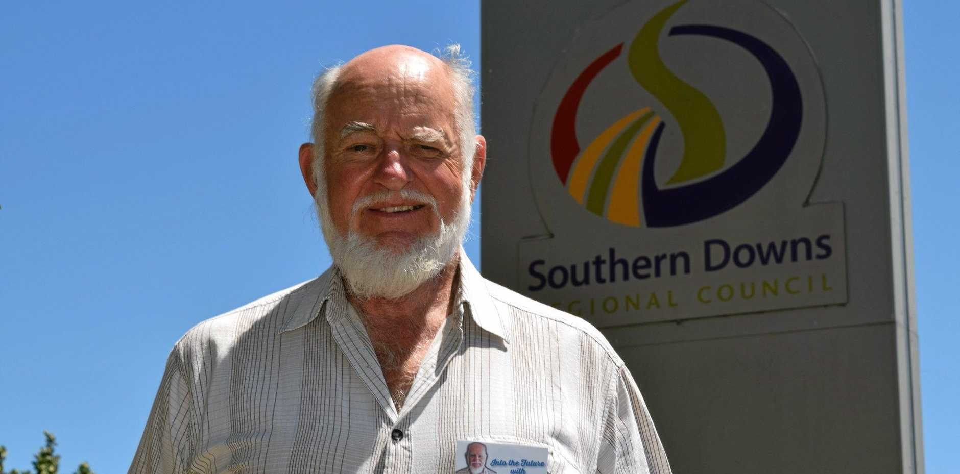 FOURTH CANDIDATE: Glen Aplin resident Jay Nauss is the fourth mayoral candidate to put his up to lead the Southern Downs Regional Council.