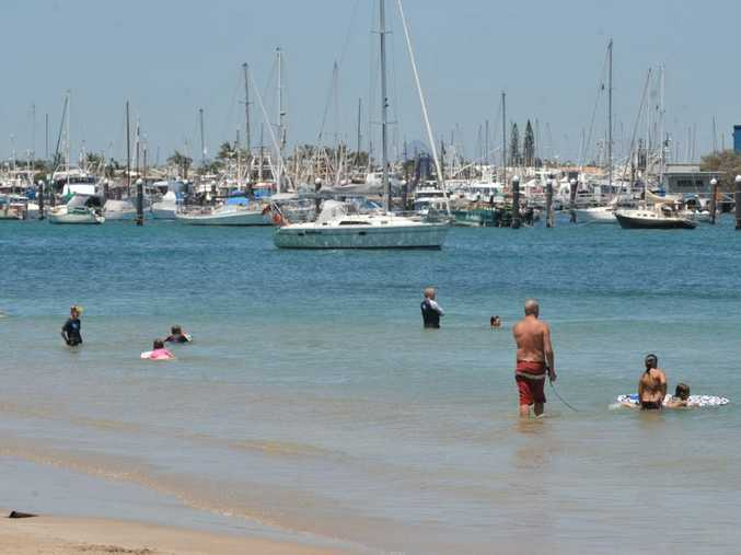 OIL SPILL CONCERN: Pt Cartwright residents have reported seeing diesel fuel slicks near La Balsa Beach in the Mooloolah River.