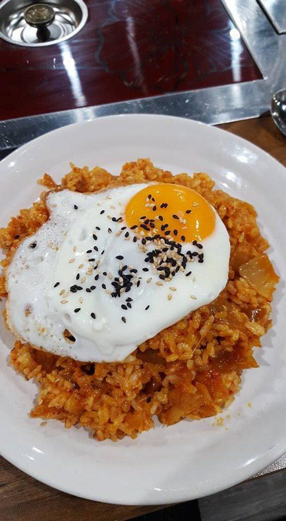 From Kajoku - Kimchi Cheese Bokkeum Bap / Fried Rice.