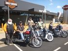 Riding for drought victims