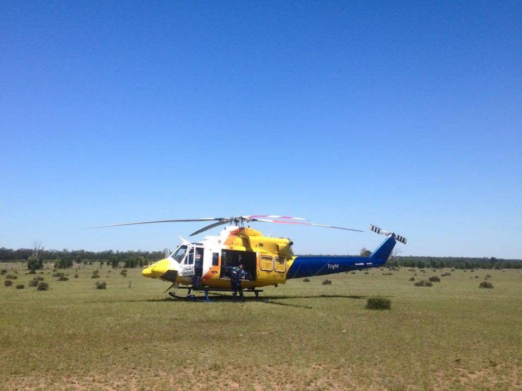 Careflight were called to Hendricks Rd, Mt Forbes to attend a forklift accident this morning.