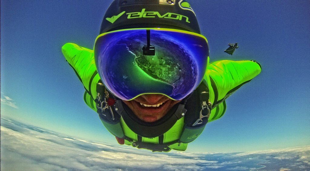Tradie downs tools to chase US wingsuit dream | Sunshine