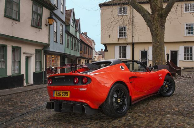 2016 Lotus Elise Cup 250. Photo: Contributed