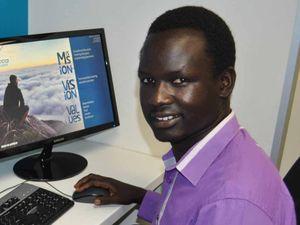 Alak Ajang has succeeded despite life's challenges