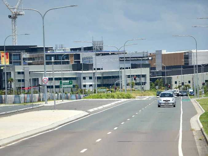 Kawana Way toll road. Steve Dickson is claiming there are secret government plans to create a toll road to the new Sunshine Coast Private Hospital.