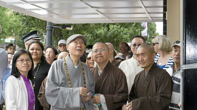 Venerable Master Chin Kung (centre) from Pure Land Learning College will speak at the conference.