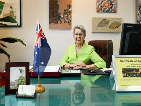 Lismore Council Lord Mayor Jenny Dowell pictured in The Lismore City Council Chyambers. Photo Patrick Gorbunovs / The Northern Star