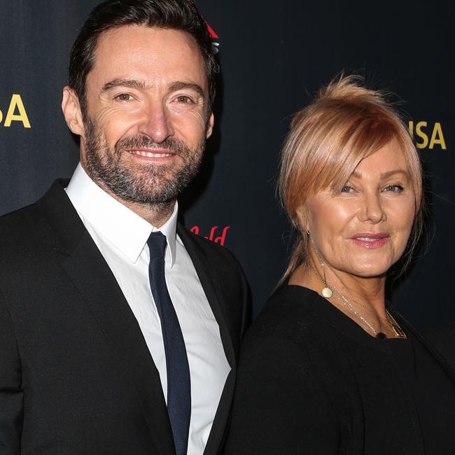Hugh Jackman and wife Deborra-Lee Furness.