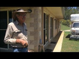 Eagle attacks Widgee man