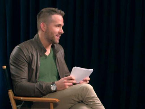 Ryan Reynolds crashes Eddie the Eagle press day to interview Hugh Jackman.