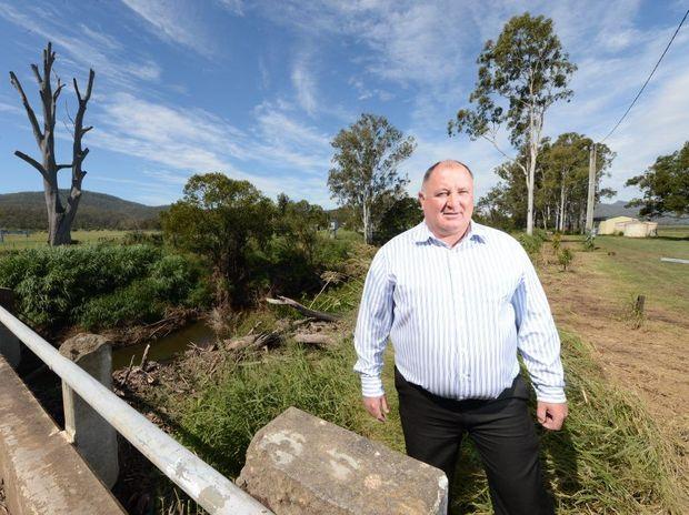 Lockyer Valley mayor Steve Jones. Sarah Harvey / The Queensland Times