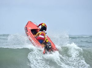 Youth surf lifesaving championships at Dicky Beach