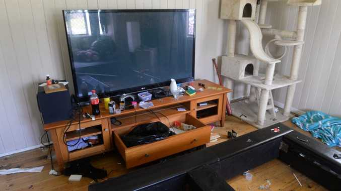 RENTAL PROBLEMS: The home in McMannie Street which was left in a messy condition. Photo: Mike Knott / NewsMail