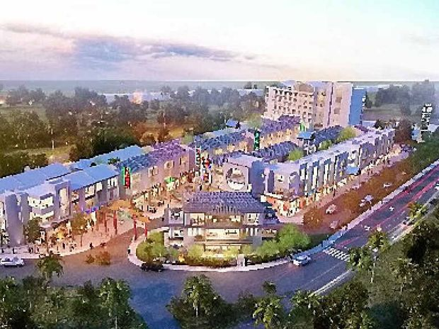 CONCEPT: The initial artist's impression for the Chinatown development in Airlie Beach which could be adapted to Mackay.