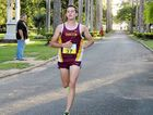 TALENTED: Liam Mumford takes gold in a 10km Mackay Road Runners race in Mackay last year.