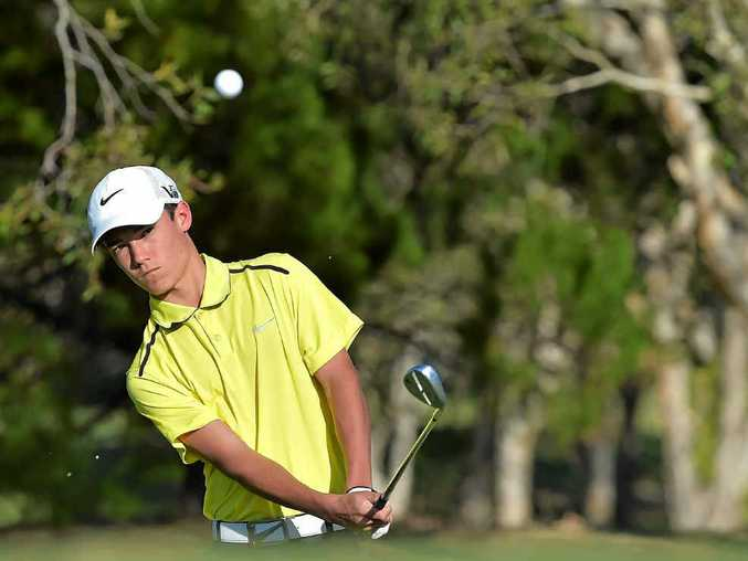 HONING HIS SKILLS: Lochlan Coleborn has been named in the Queensland junior team.