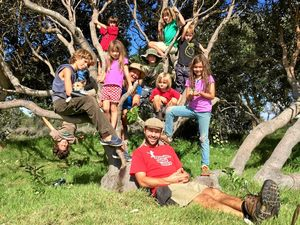 Kids get into nature, learn practical wilderness skills