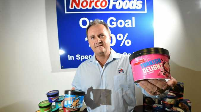 Norco's Lismore factory manager Mark Harrison is proud of the 21 awards won by the co-operative for its Coles-branded ice-cream at the Sydney Royal Cheese and Dairy Produce Show.