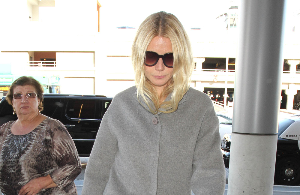 Actress Gwyneth Paltrow said the experience was