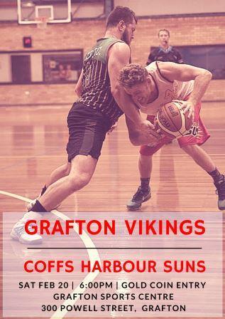 Grafton Vikings vs Coffs Harbour Suns.
