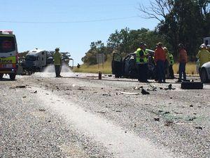 Elderly woman dies 6 days after horrific highway crash