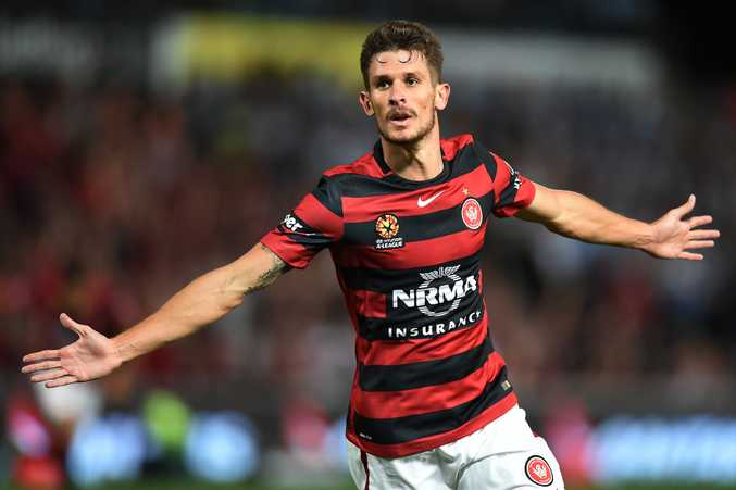 Wanderers midfielder Dario Vidosic is improving with each passing week after injury setbacks. Photo: AAP Image.