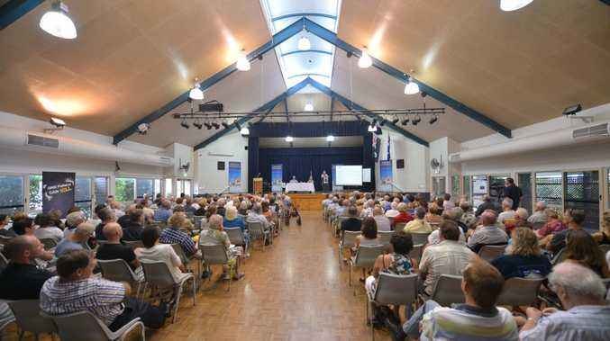 The Kawana Community Hall was alive for a forum on Sharia Law and Political Islam in 2013.