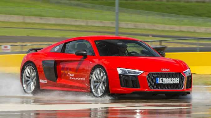 Track Test And Review The New Audi R V Coupe Plus Queensland Times - Audi r8 v10