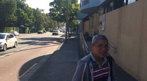 Sage Sagittarius former captain Venancio Salas Jr leaves the Sydney Coroner's Court on February 18, 2016 after attending a coronial inquest into how two Filipino sailors died on board. PHOTO: OWEN JACQUES