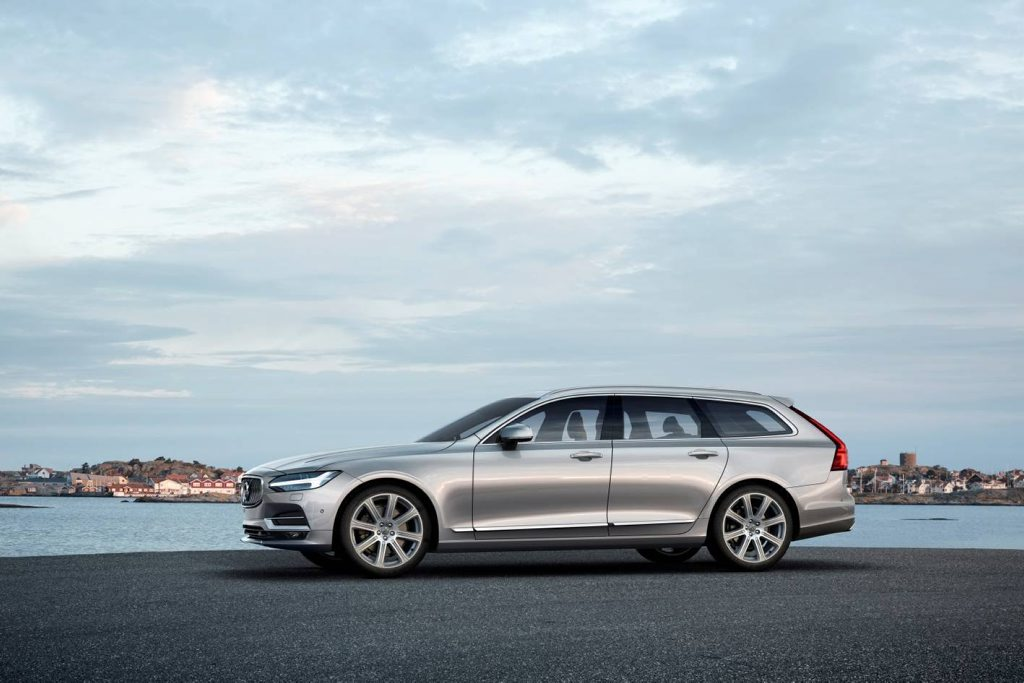 WAGON'S BACK: Volvo returns to its roots with the all-new stylish and versatile V90 wagon.