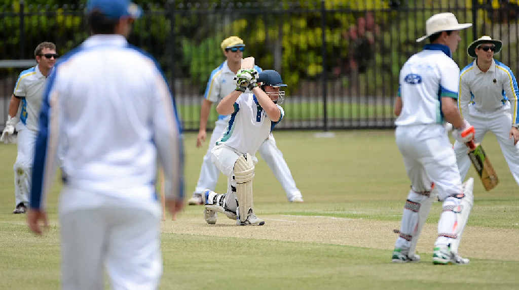 CENTURY: Brothers batsman James Fitzpatrick will resume his innings on 107 against ATW-1 today.