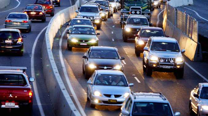 LONG DELAYS: More than 100,000 motorists use the Ipswich Motorway daily.