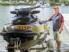 Jet ski rescue service goes full throttle
