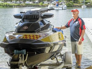 Jet ski rescue service goes full throttle