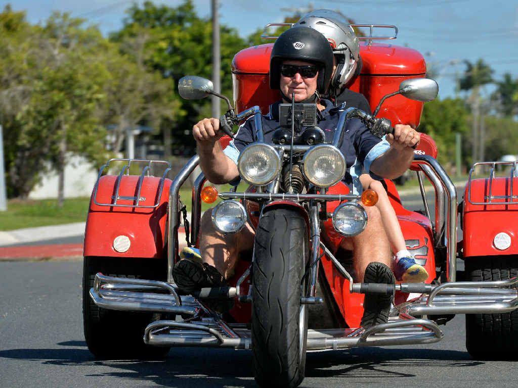 Mackay's Greg Power loves riding his 2003 Rewaco Trike