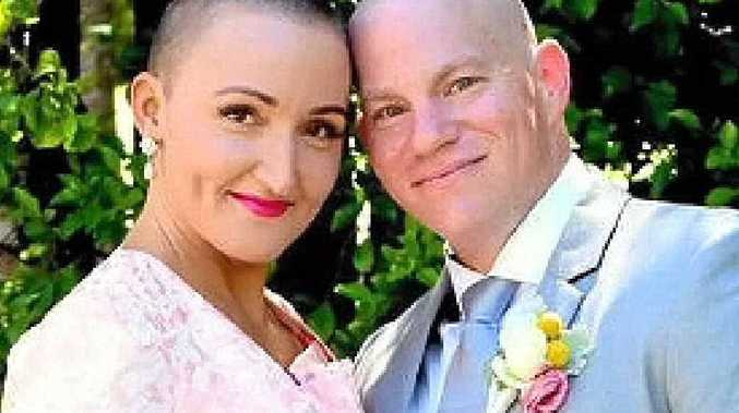 JUST MARRIED: Kristy and Kurt Southam.