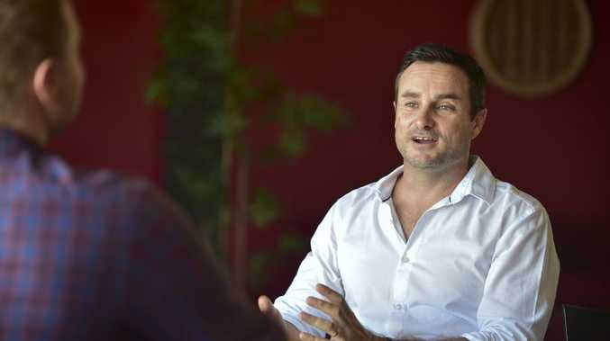 Retail Express CEO Aaron Blackman. Photo: Che Chapman / Sunshine Coast Daily