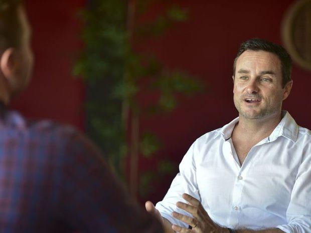 Retail Express CEO Aaron Blackman. Photo: Che Chapman / Sunshine Coast Daily