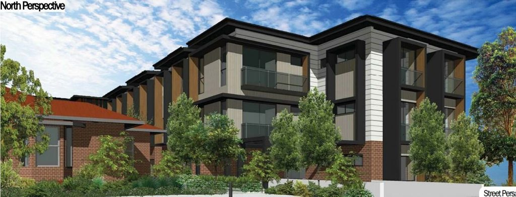 Artist impressions of the proposed aged care facility.