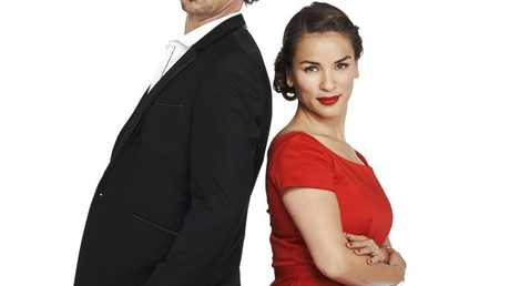 My Kitchen Rules judges Colin Fassnidge and Rachel Khoo. Supplied by Channel 7.