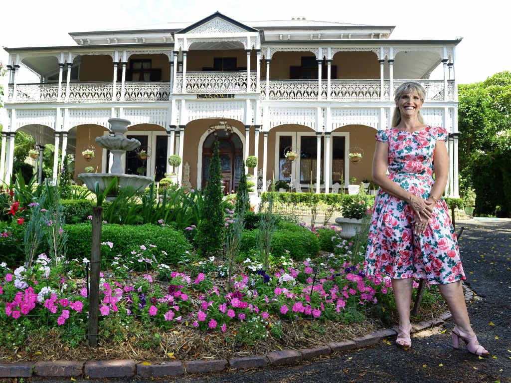 HIGH TEA: Cancer survivor Connie McKee is hosting a fundraiser on March 6 to help other women with breast cancer. The high tea is a chance to see the historic home Garowie.