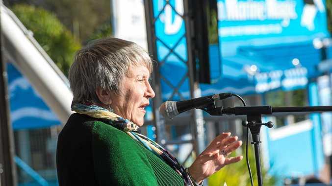 Greens candidate for Cowper Carol Vernon.