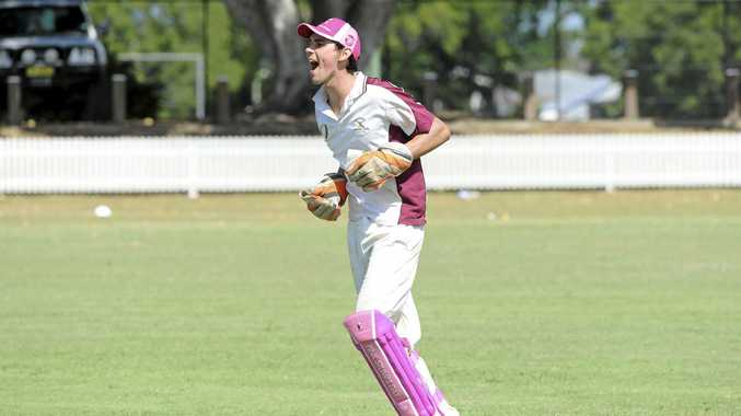 IN THE PINK: Brothers 'keeper Billy Kerr delivered a timely reminder of his talent with the bat in the win over Easts at Ellem Oval on Saturday.