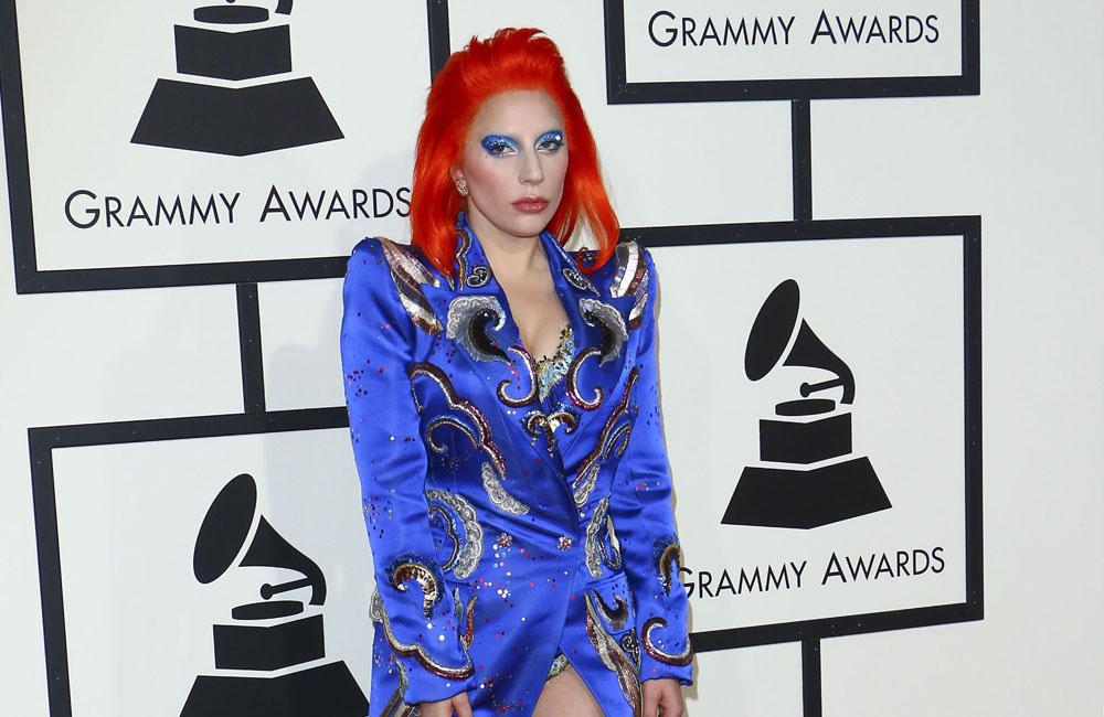 Lady Gaga has labelled David Bowie's final album his