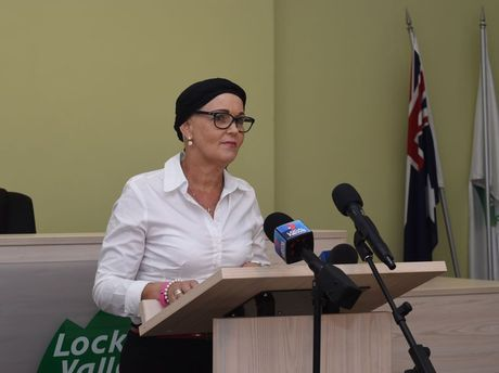 Deputy Mayor Tanya Milligan issued a statement about the death of Lockyer Valley Regional Council Mayor Steve Jones.